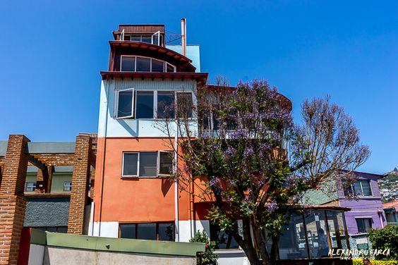 La Sebastiana, Neruda's house in Valparaiso