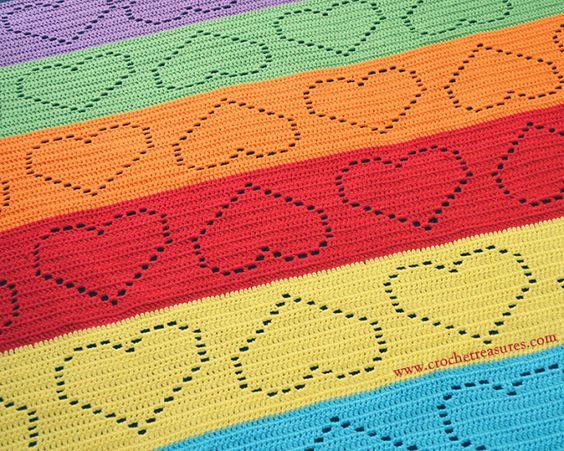 Darling Afghan, Free Crochet Pattern, Filet Crochet, Mesh Crochet,
