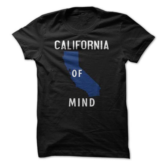 California state of mind. #teeshirt #hoodie