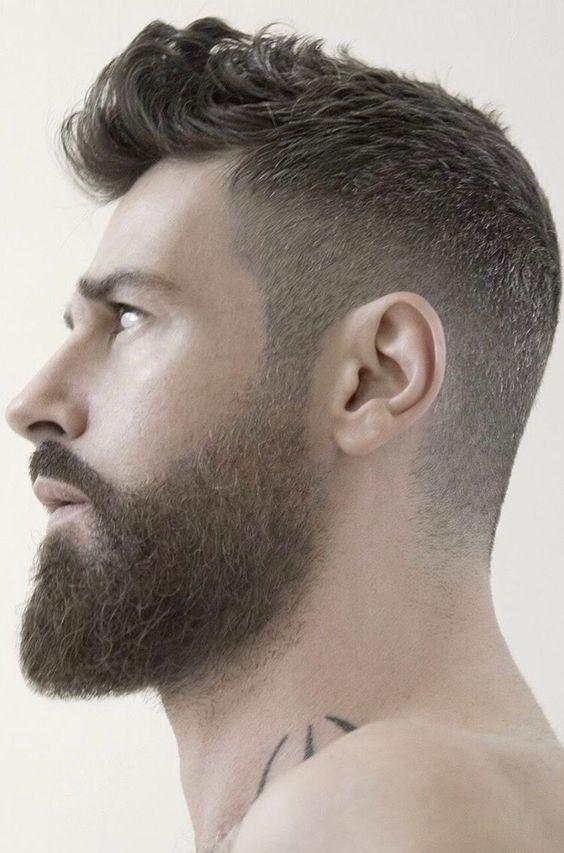 God Like Profile Coupe De Cheveux Barbe Barbe Homme Coupes De Cheveux Hommes Modernes