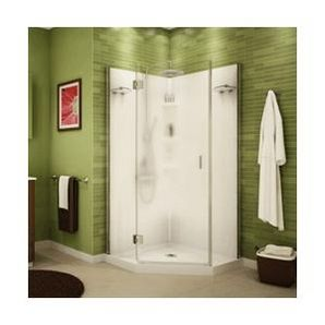 Famous Bathroom Drawer Base Cabinets Huge Ugly Bathroom Tile Cover Up Solid Bathroom Addition Ideas Venting Bathroom Exhaust Fan Through Gable Vent Youthful Wall Mounted Magnifying Bathroom Mirror With Lighted DarkWestern Bathrooms Home Hardware   36\u0026quot; Papaya Chrome Angle Polystyrene Shower Cabinet ..