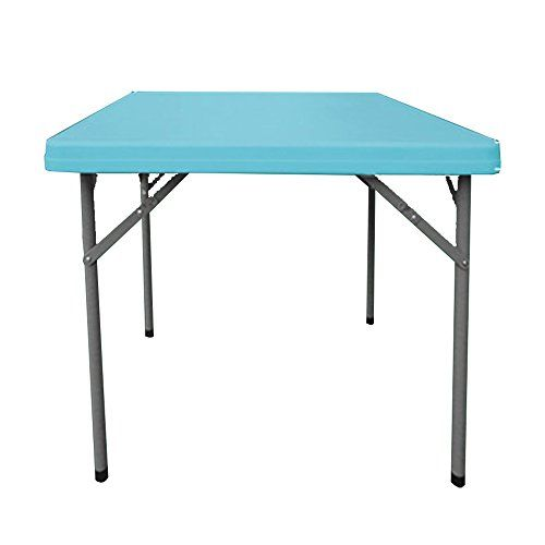 Folding Table Chunlan Environmentally Friendly Plastic Folding Square Table Dining Table Office Meeting Outdoors Portable Co Folding Table Square Tables Table