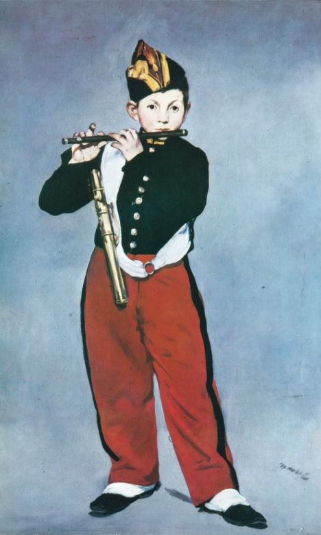 MANET, Édouard. O tocador de pífaro. 1866.