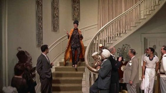 Auntie Mame staircase: