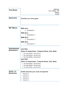 instant resume templates blogspot instant resume templates in 1 5 years