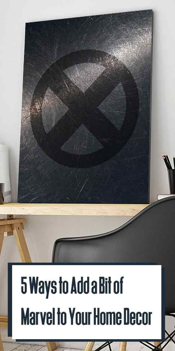 5 Ways To Add A Bit Of Marvel To Your Home Decor Marvel Room