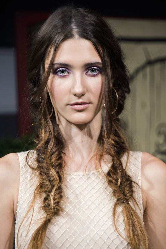 If you're stumped on how to wear your hair try the versatile braid! #hair #braids #fashion #beauty