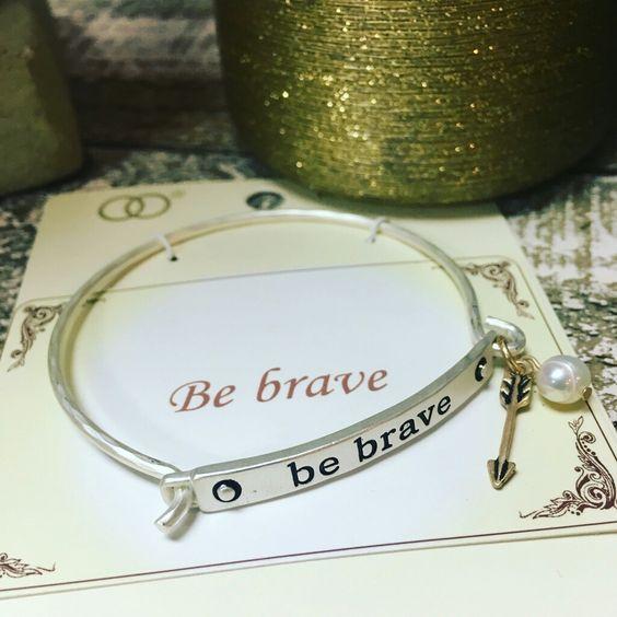 Be Brave Bracelet #bebrave #bracelet #armcandy #EncoreKC #AbsolutelyTamara