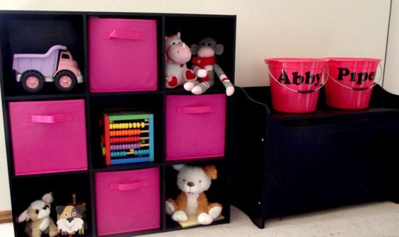 Great tips to organize kids toys and playroom storage made simple!