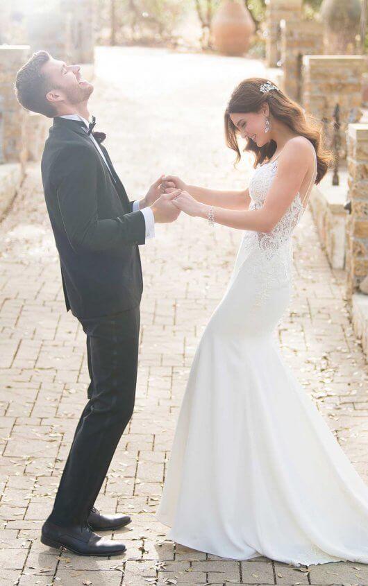 Beaded Sheer Wedding Dress Essense Of Australia Essense Of Australia Wedding Dresses Sheer Wedding Dress Wedding Dresses