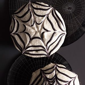 Chocolate Spider Cupcakes | MyRecipes.com