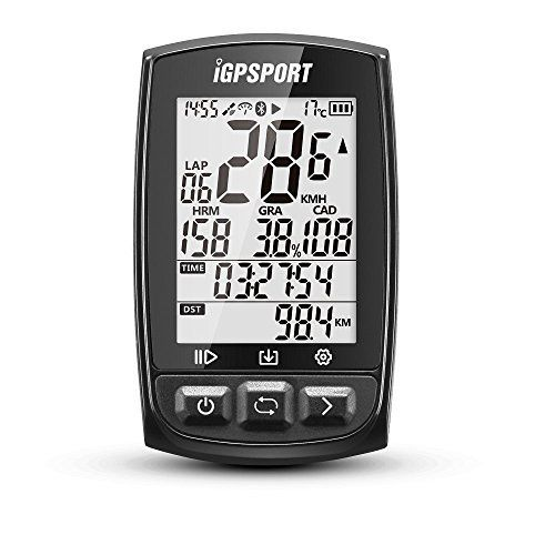 Gps Bike Computer Big Screen With Ant Function Igpsport Igs50e