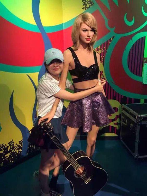 Madame Tussaud's in Chongqing, China TAYLOR SWIFT | Taylor Swift chez Madame…