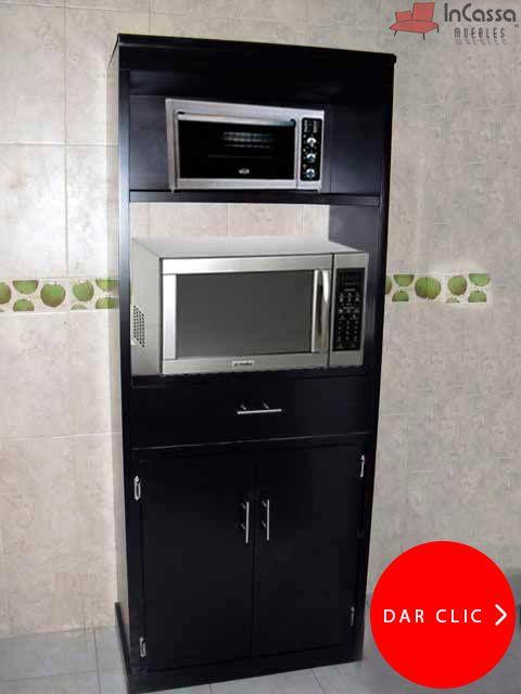 Porta Microondas Y Hornito Modelo Reston Incassa Muebles Muebles Microondas Muebles De Cocina Color Muebles