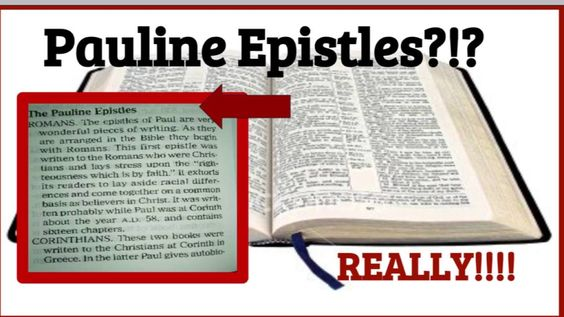 Apostle Paul is NOW Pauline? Transgender?! Bible Concordance Changed