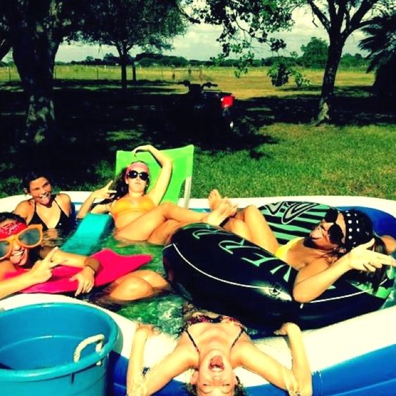hanging around...yep i will be getting a pool like this to lay in on scorching hot summer dayssss <3 #summer2013