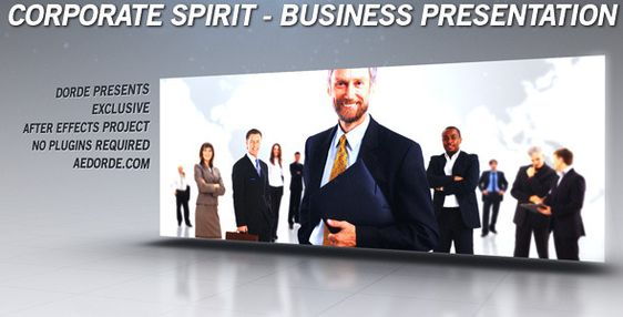 Adobe After Effects Templates - AE_Project_0281 - Clean Design - business presentation