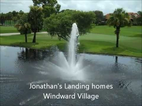 Windward Village is a Jonathan's Landing community along the 12th hole of the Fazio course.    To see all Jonathan's Landing homes for sale contact Richard Sites at 561-762-4073 in the Jonathan's Landing Realty office where we are the exclusive on-site agents for the Club.
