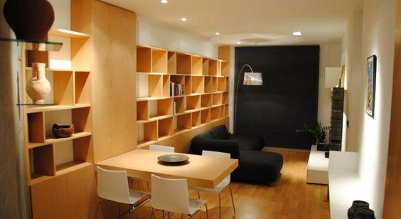 #interiorismo #arquitectura #libreria #iluminacion #madera #troll #boconcept #libro #design