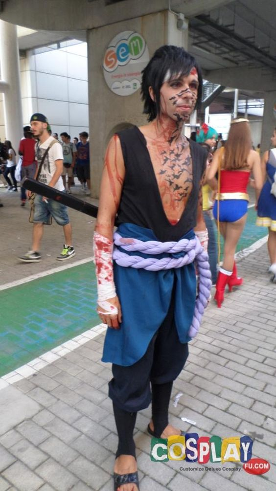 Sasuke Uchiha Cosplay from Naruto in Romics Autumn 2014 IT