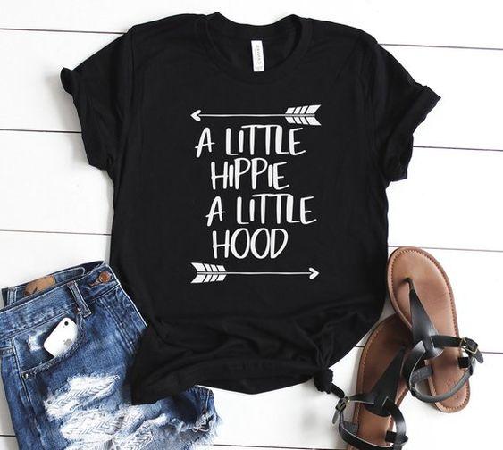 A Little Hippie A Little Hood Shirt Hippie Shirt Holiday Gifts