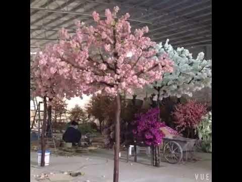 Diy For Artificial Cherry Blossom Trees Arch Wedding Decoration Youtube Artificial Cherry Blossom Tree Cherry Blossom Tree Blossom Trees