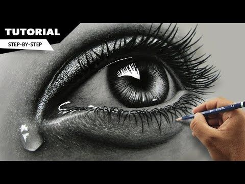 How To Draw Hyper Realistic Eyes Step By Step Azariah Drawing Blog Realistic Eye Drawing Realistic Eyes Step By Step Realistic Eyes