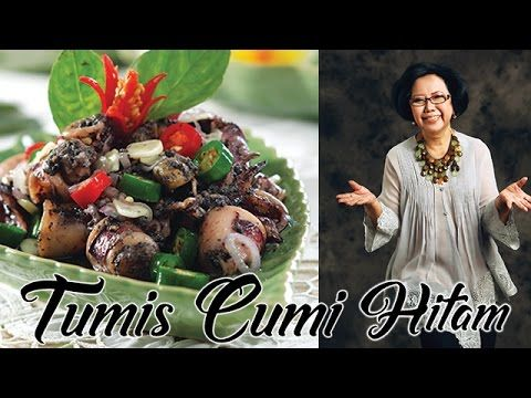 Tumis Cumi Hitam By Sisca Soewitomo Youtube Resep Masakan Indonesia Tumis Resep Masakan