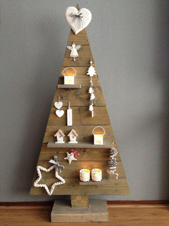 Arbol De Navidad Con Palets