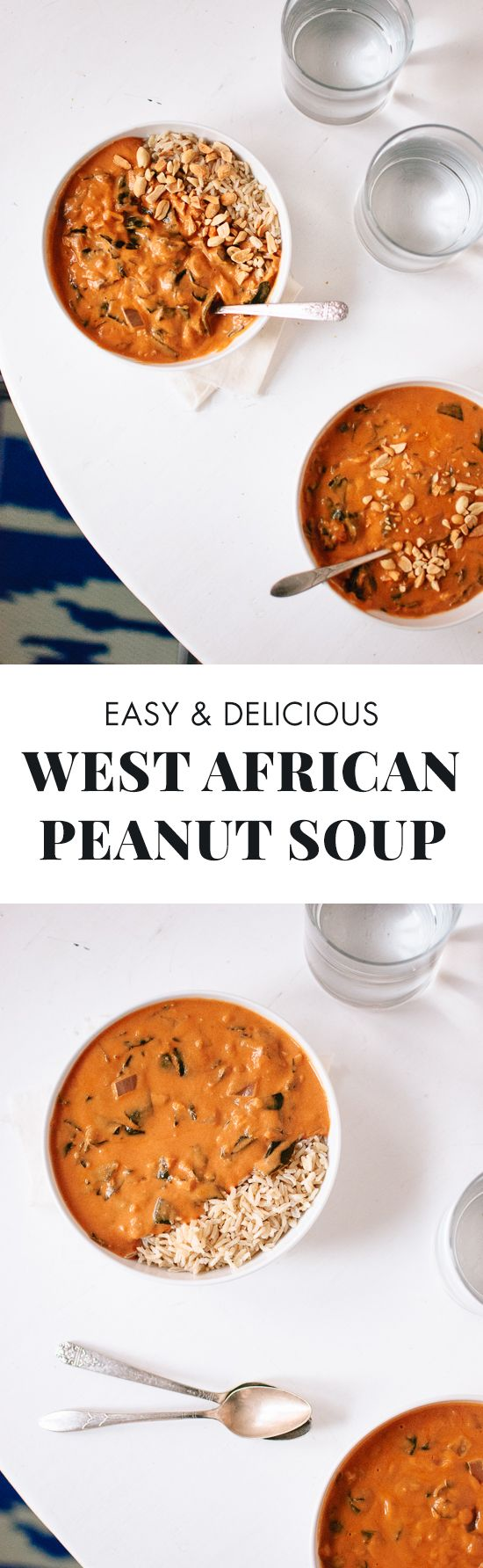 Africans, Peanuts and Soups on Pinterest