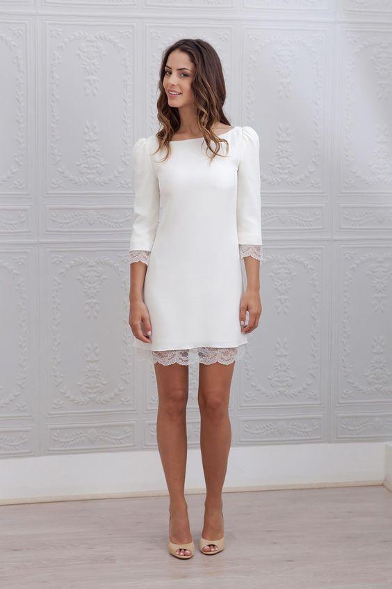 La plus belle robe courte! 👰 3