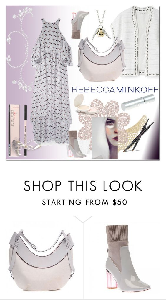 """""""Style Rebecca Minkoff's Spring 2016 Collection!"""" by ilona-828 ❤ liked on Polyvore featuring Rebecca Minkoff, Disney, Gucci, women's clothing, women, female, woman, misses, juniors and contestentry"""
