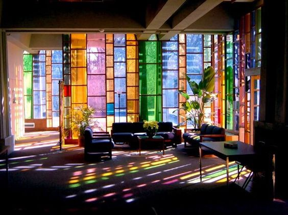 rainbow light through window - Google Search