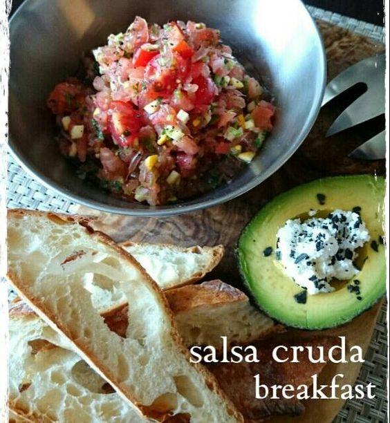 辛いサルサ・クルダを作りました 決めては!ピンクグレープフルーツです。 彩りもきれいでお味が爽やかですよ! 朝から元気になるメニューです。 - 55件のもぐもぐ - サルサ・クルダ by satomi