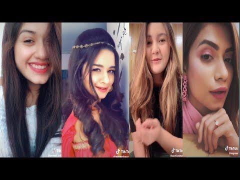 Most Popular Tik Tokers Of India Top 5 Indian Girls Of Tik Tok Jannat Avneet Ashika Nagma Mrunal Youtube Indian Girls Girl Photos Popular