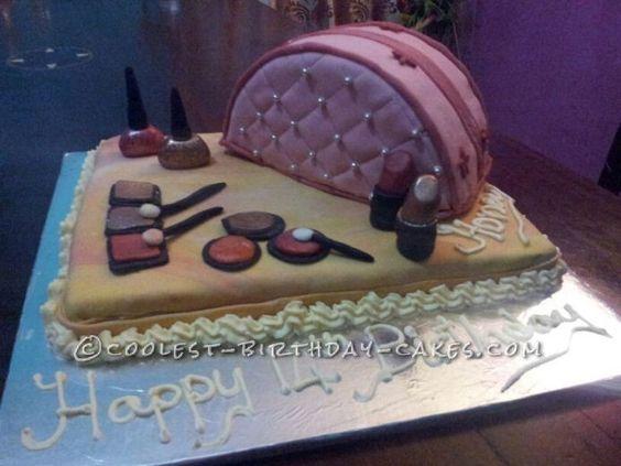 Coolest Teenage Girl Make-Up Kit   Birthday cakes, Teenage ...