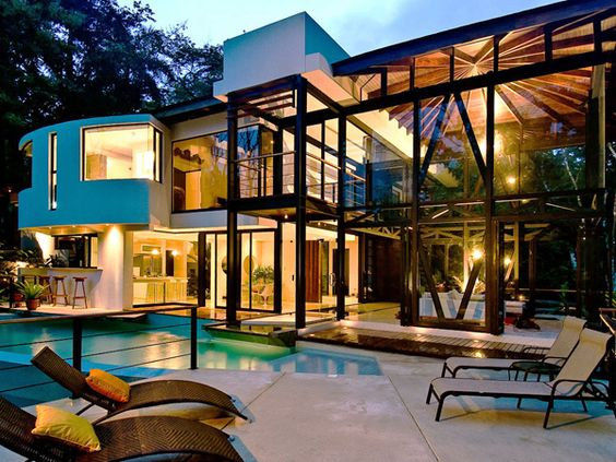 Sumptuous Vacation Retreat In A Tropical Rainforest | Architecture, Glass  Houses And House
