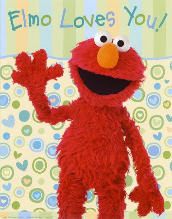 Chassity Loves You, Elmo!
