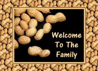 Welcome To The Family-Nuts-Humor Greeting Card
