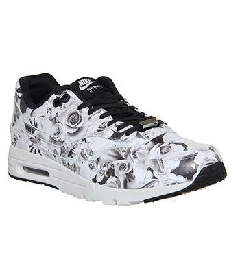 Nike Air Max 1 Ultra Moire (l) Lotc Black White Floral Nyc Qs -