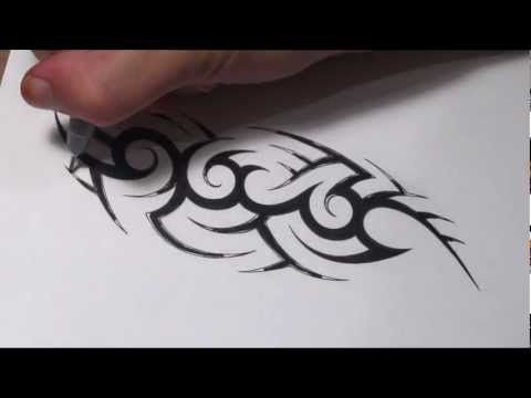How To Create A Hidden Tribal Name Tattoo Design Youtube Name Tattoos Picture Tattoos Name Tattoo Designs
