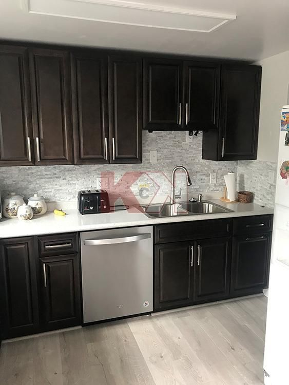 The Cabinets Are Very Well Built And The Customer Service Representative I Worked With Was Espresso Kitchen Cabinets Espresso Cabinets Online Kitchen Cabinets