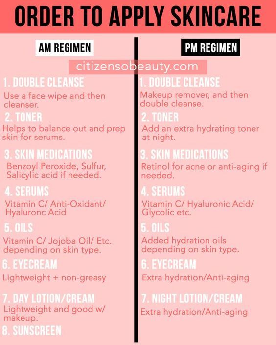 Applying Your Skin Care In The Correct Order Citizens Of Beauty Skin Care Routine Steps Skin Care Natural Skin Care