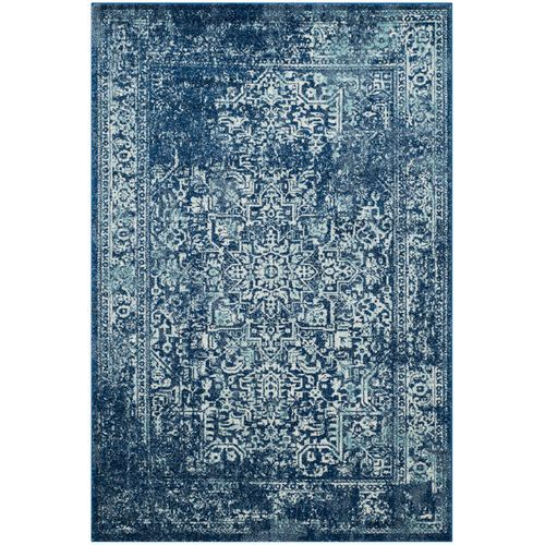 Traditional Indigo 5 1 X7 6 Rug Traditional Area Rugs Area