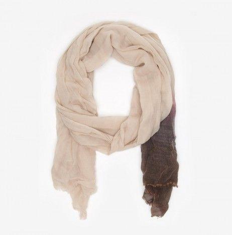 Tie-dye Wool Scarf by Giada Forte