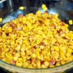 How to Make Fried Corn with Bacon?