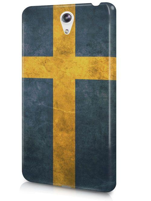 Sweden Vintage Country Flag Case Cover Design for LeTV Phone