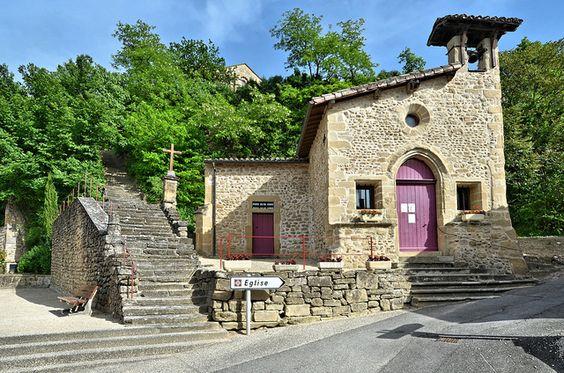 Chapelle de Chantemerle les Blés - Drôme, via Flickr.