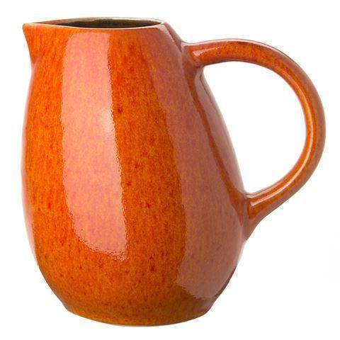 Jars - Tourron Orange Pitcher