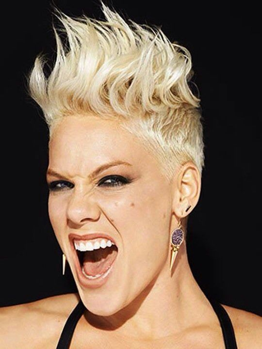 Surprising Hairstyles Pink Hairstyles And Pink On Pinterest Short Hairstyles Gunalazisus